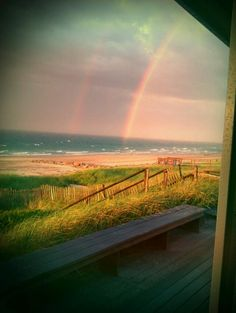 Rainbow over Cape Cod
