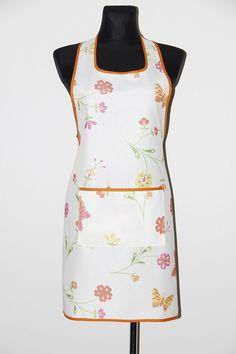 Handmade apron, kitchen apron. Butterfly apron. Pinafore