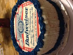 Budweiser Beer Can Cake Ideas And Designs