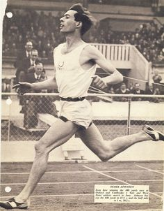 Dereck Johnson ( GB ) won the 1954 Empire Games 880yds & in the 1956 Olympic 800m was beaten by inches for the Gold Medal