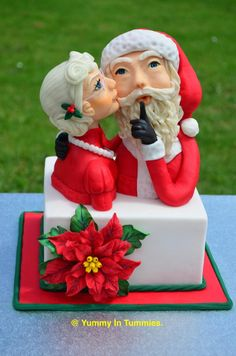 CPC Red & Green Collaboration : Mr. and Mrs. Clause.  by Yummy In Tummies.