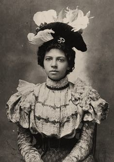It's About Time: African American Women from the 1890s Albums of WEB Dubois. These photos were displayed at the Paris Exposition in 1900. DuBois wanted to counter the negative stereotypes of blacks.