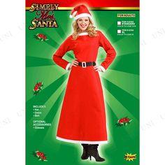 ForumNovelties(フォーラム)ミセスサンタSTD♪クリスマスサンタコスプレ衣装レディース女性用コスチュームサンタ服ワンピース