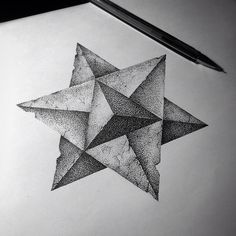 #tattoo #dotwork #sketch #art #artwork #illustration #drawing #gelpan #sacral #merkaba