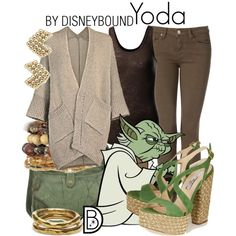 Yoda by leslieakay on Polyvore featuring Tommy Hilfiger, Paloma Barceló, Frye, TOMS and Witchery