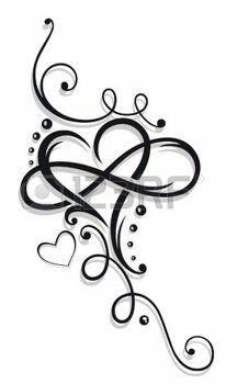 Tribal Heart Large Infinity Loop Stock-Vektorgrafik (Lizenzfrei) 1008874423 – foot tattoos for women Tattoos With Kids Names, Tattoos For Daughters, Small Tattoos, Daughter Tattoos, Tattoos For Grandchildren, Tattoos Children, Mother Daughter Infinity Tattoos, Children Names, Kid Names