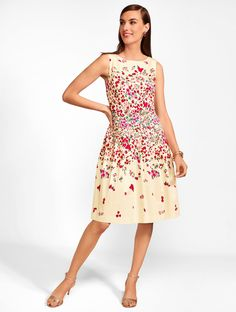 Pastel Floral Sheath Dress In 2019 Rsvp Occasion Wear