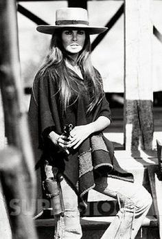 HANNIE CAULDER (1971) - Raquel Welch - Directed by Burt Kennedy - Paramount Pictures - Publicity Still.