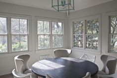 windows / Heather A. Wilson's new build of classic bungalow in Charleston, South Carolina, Remodelista House Design, Simple House, House Interior, Small Enclosed Porch, House, Home, Interior, Butler House, House With Porch