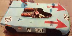 Jo Siffert PORSCHE 908/3 Targa Florio