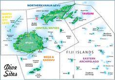 Fiji Character Dive Map