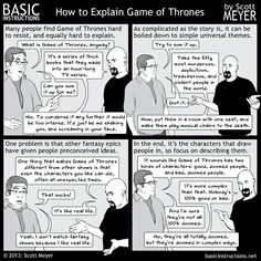 Comment expliquer Game Of Thrones à un néophyte? | On The Wall
