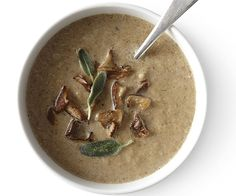 Cream of Mushroom Soup with Ale and Cumin recipe