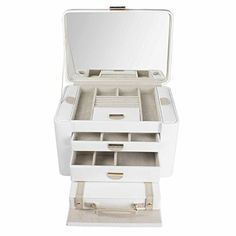 Special Offers - Dulwich Designs | Jewelry Box | cream & mink two-tone large jewelry organizer - In stock & Free Shipping. You can save more money! Check It (May 28 2016 at 03:23AM) >> http://storagebedsusa.net/dulwich-designs-jewelry-box-cream-mink-two-tone-large-jewelry-organizer/