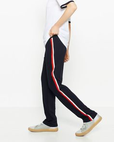 Image 2 of UNGENDERED JOGGING TROUSERS from Zara