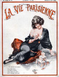 Chéri Hérouard (1881-1961). La Vie Parisienne, 21 Avril 1923. [Pinned 27-iii-2015]