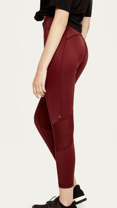 The Burst Leggings contouring fit and body-mapping combines smooth, support and complement your every pose. Body Mapping, Yoga Outfits, Workout Essentials, Athleisure Outfits, Contouring, Women's Leggings, Pilates, Capri Pants, Burgundy