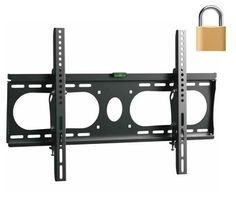 "InstallerParts Flat TV Mount 32~50"" Lockable Tilt Slim Type WLT102M -- For LCD LED Plasma TV Flat Panel Displays -- This Locking Wall Mount Bracket is Perfect for Hotels or Outdoor Locations. Fits Samsung, LG, Vizio, Panasonic, Sony and More! by InstallerParts. $19.99. This tilt angle adjustable wall bracket is lockable and ideal for hotel rooms or public place installations.   The wall mount supports most 32 to 50 inch mid size flat TVs up to 100 lbs weight. ..."