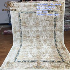 Handmade Silk Carpets & Rugs from Yilong Carpet factory.#art #handknottedpersiansilkrugs #silkpersainrug #orientalcarpetrug #100%silkrugforsale #silkpersianrugforsale #silkrughandmade #silknainrugforsale #persianisfahanrugforsale #chinesehandknottedsilkrug #handmadepakistanirugs #persianfourseasonssilkrug #persiantreeoflifesilkrug