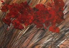 """Saatchi Art Artist Ramona Vasiliu Hisum; Painting, """"Flowers"""" #art"""