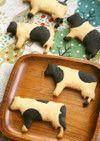 リアルな白黒柄がかわいい!牛型おやつ「モーモーサブレ」が混ぜるだけで作れた! | クックパッドニュース