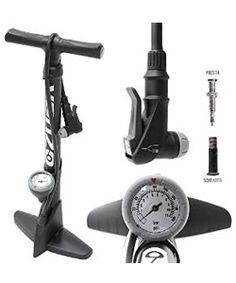 Geared2U Bike Pump and Wireless Bike Computer