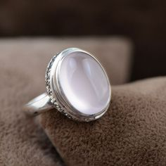 Check out our new Rose Quartz Sterl... hurry as stock is limited! http://www.soigne916.com/products/rose-quartz-sterling-silver-ring?utm_campaign=social_autopilot&utm_source=pin&utm_medium=pin