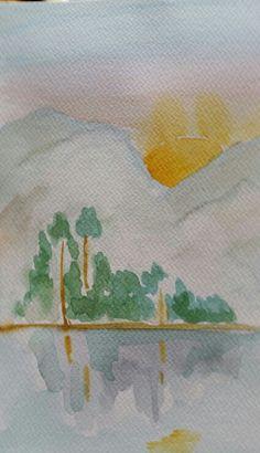 Panorama watercolor