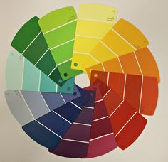 Make your own color wheel!