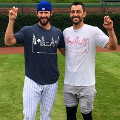 Pictured: Jake Arrieta and Matt Carpenter