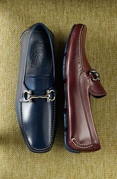 38e791fc2ad Salvatore Ferragamo  Parigi 5  Driving Shoe Chaussures Élégantes