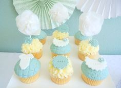 Kristen from Kristen's Sweet Treats in the Netherlands sent us this sweet party she styled for a friend's baby shower. The gender of the baby was unknown to the guests so Kristen kept the palette gender neutral. We love how Kristen displayed the popcorn to look like cloth diapers with pins. So clever! Other treats on …