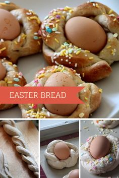 Make Traditional Easter Bread! Recipe Here --> http://www.hgtvgardens.com/recipes/easter-bread-for-the-table?soc=pinterest