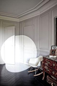 A painted spotlight interior