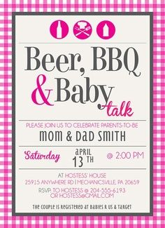 Non baby shower invitation inviwall non traditional baby showers 7 cool themes it s my party filmwisefo