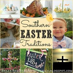 Belle & Beau Antiquarian: Southern Easter Traditions