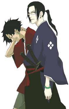 Samurai Champloo - Jin and Mugen