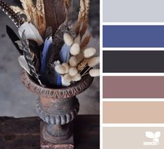 Design Seeds celebrate colors found in nature and the aesthetic of purposeful living. Colour Pallete, Colour Schemes, Color Palettes, Color Balance, Design Seeds, Colour Board, Color Stories, Tag Art, Colorful Decor