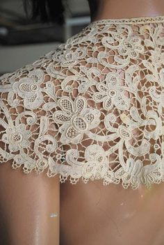 Needle Lace, Lace Shorts, Tatting, Vintage, Women, Fashion, Lace, Embroidery, Fabrics
