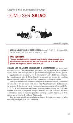 Leccion como ser salvo by Escuela Sabatica via slideshare. Descarga aqui: http://gramadal.wordpress.com/