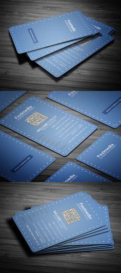 Clean Business Card #businesscards #printready #businesscardtemplate #printedcards