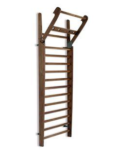 Drabinka gimnastyczna NOHrD (drewno orzechowe)