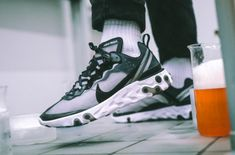 0cd0ee533c50 Get Ready For The Nike React Element 87 Black White A brand new silhouette  is arriving
