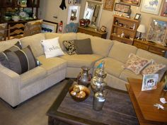 what a perfect sectional for any room!