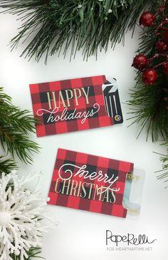#Christmas Gift Card Free #Printable