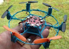 Летающий 3D Нарисованный Квадракоптер