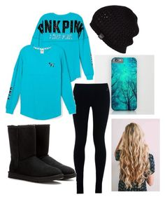 """""""Untitled #30"""" by hintzj2020 on Polyvore featuring NIKE, Victoria's Secret PINK and UGG Australia"""