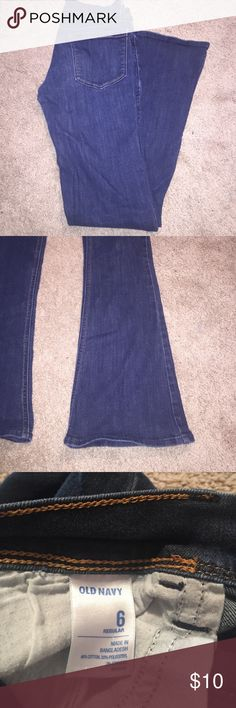 Old Navy boot cut jeans The most comfortable pair of jeans! Dress them up or dress them down. Old Navy Jeans Boot Cut