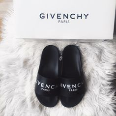 Givenchy slides.