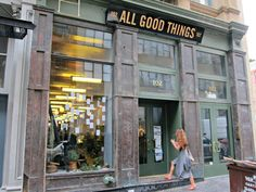 All Good Things food market storefront in #Tribeca #nyc